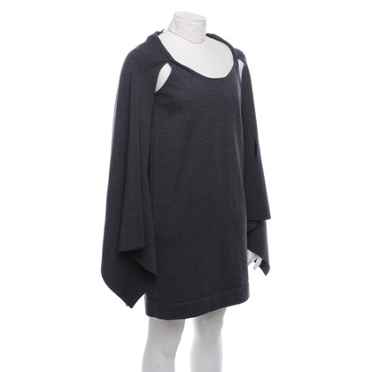Cos Wool dress with scarf in grey