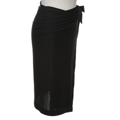 Wolford Wrap skirt in black