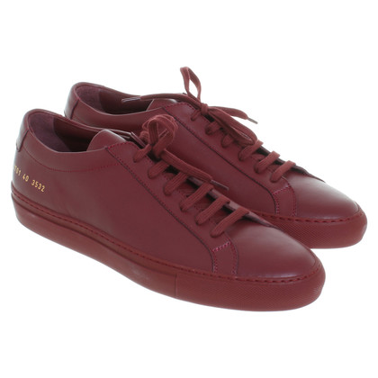 Common Projects Scarpe da tennis rosse