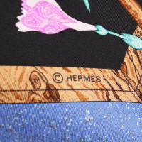 "Hermès Seidentuch with ""Pierres d'Orient et d'Occident"