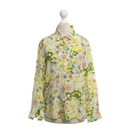Other Designer Isolda - blouse with a floral pattern