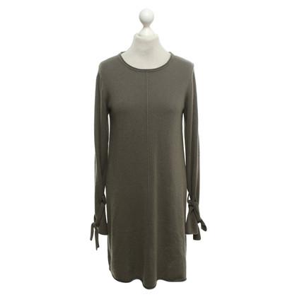 FTC Gebreide jurk in kaki