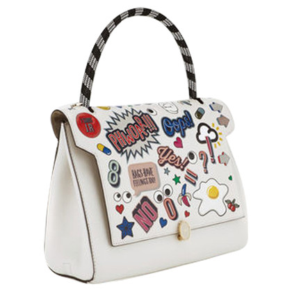 "Anya Hindmarch ""Bathurst Satchel alles over Stickers"""
