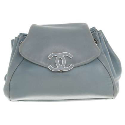 Chanel Borsa a tracolla in blu