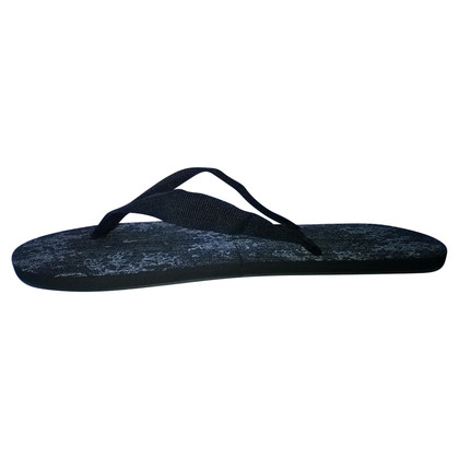 La Perla Slippers in zwart