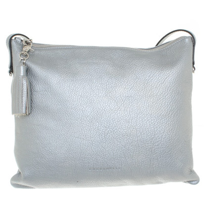 Coccinelle Shoulder bag in silver