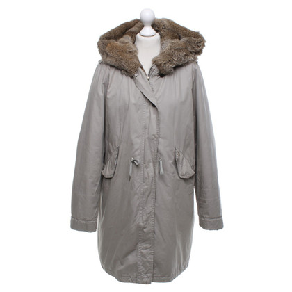 Woolrich Parka in grigio chiaro