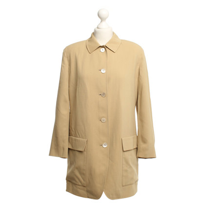 Donna Karan Silk jacket in beige
