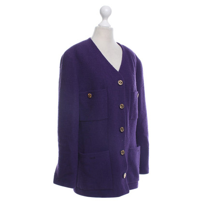 Chanel Blazer in viola