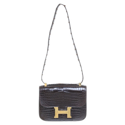 "Hermès ""Constance Tas"" krokodillenleer"