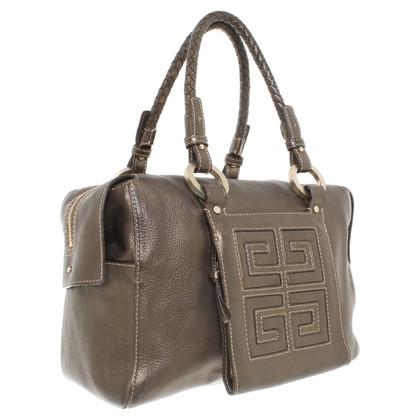 Givenchy Metallic leather handbag
