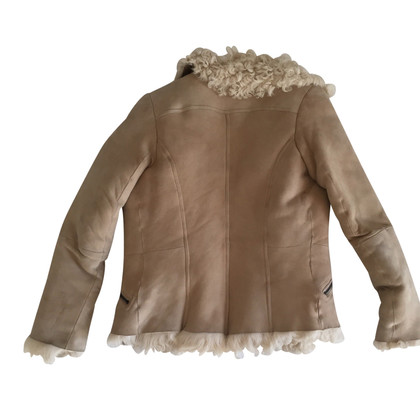Closed Sheepskin biker jacket