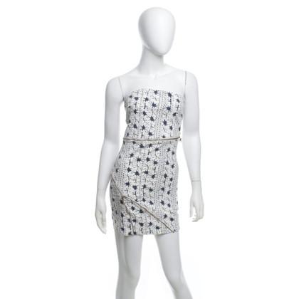 Patrizia Pepe Bandeau jurk met ritsen