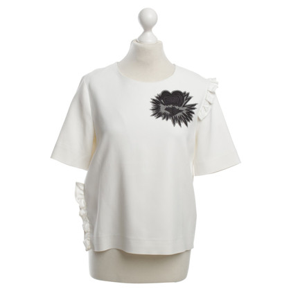 MSGM Top met volants
