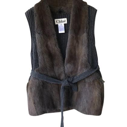 Chloé Cashmere waistcoat with pelicia
