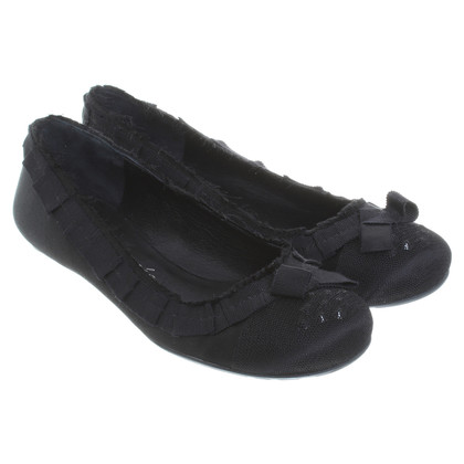Pedro Garcia Ballerinas in black