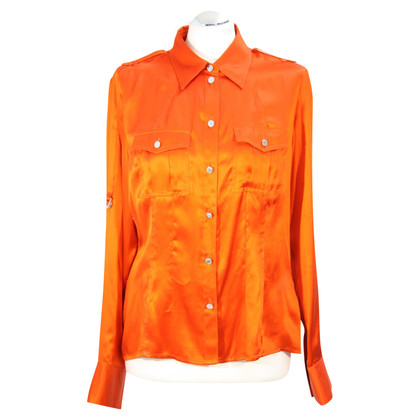 Karen Millen Seidenbluse in Orange