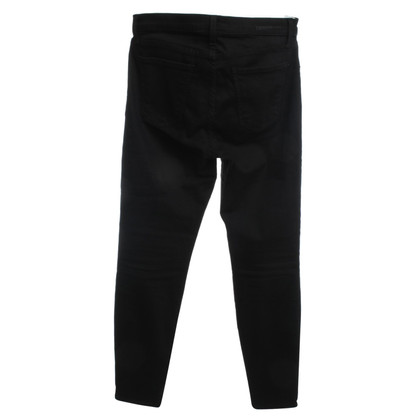 Current Elliott Jeans a vita alta nero