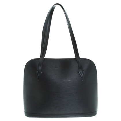 "Louis Vuitton ""Lussac EPI leather"" in black"