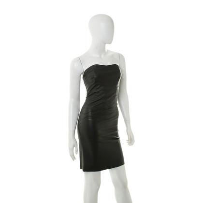 Jitrois Vestito di pelle nera