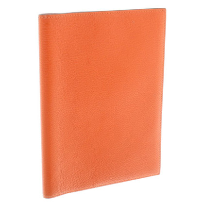 Hermès Calendar Holder in orange