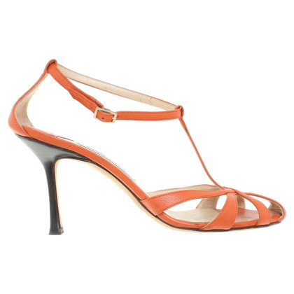Jimmy Choo Sandali a Orange
