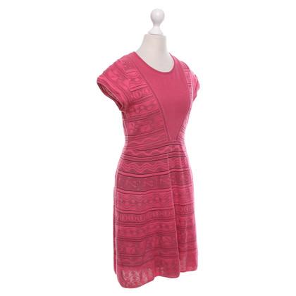 Missoni Strickkleid in Pink
