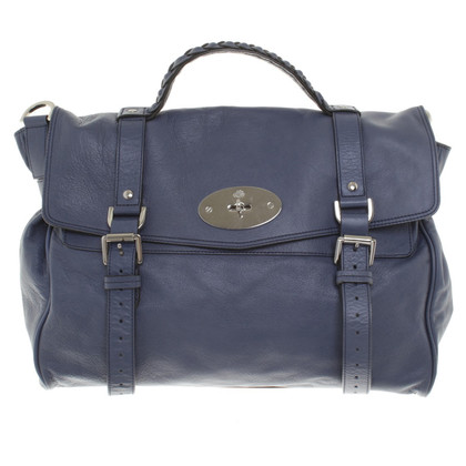 "Mulberry borsa ""Alexa"" in blu"