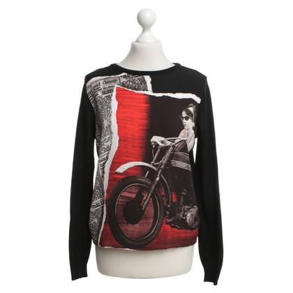 Moschino Cheap and Chic Sweater met kleurrijke print