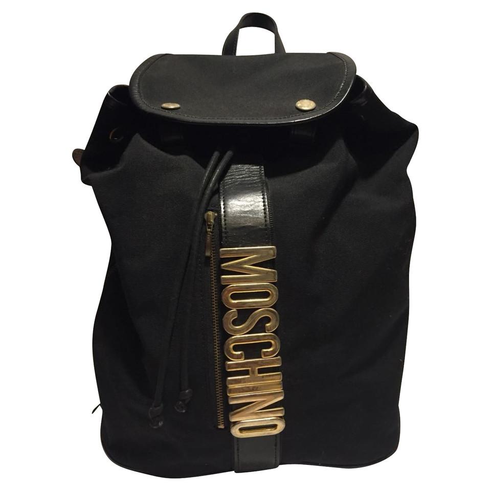 Moschino Sac à dos noir