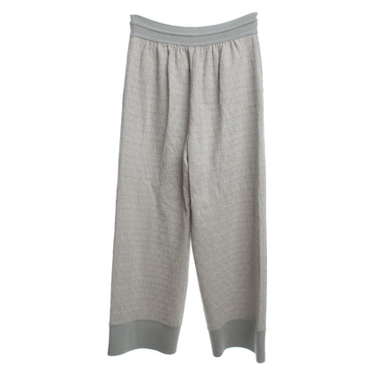 Missoni trousers in grey / cream