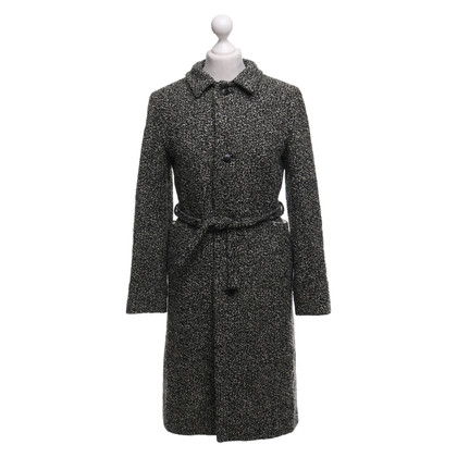 Jil Sander Coat in black and white