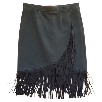 Maje black skirt