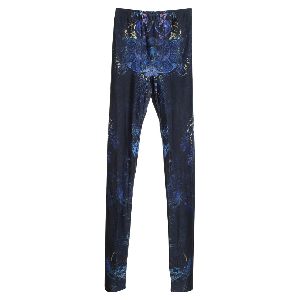 Alexander McQueen Leggings with batik pattern
