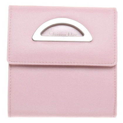 Christian Dior Portemonnaie in Rosa