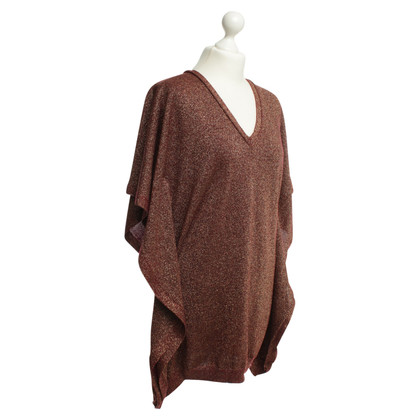 Vionnet Fine knit sweater with fancy yarn