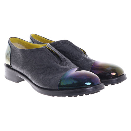 Pollini Slipper with holographic details