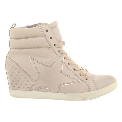 Altre marche Sneaker Zeppe beige