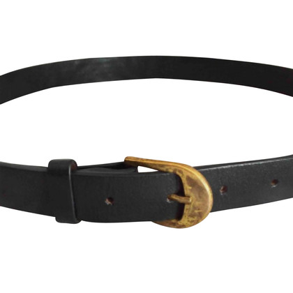 Sandro Blue leather belt
