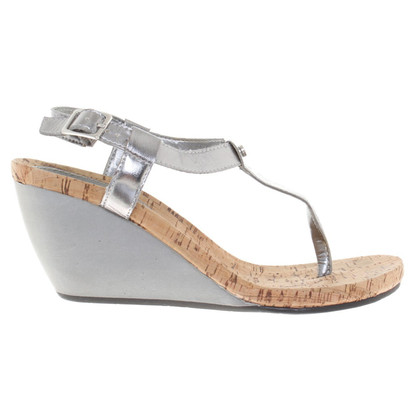 Ralph Lauren Sandaletten in Silber