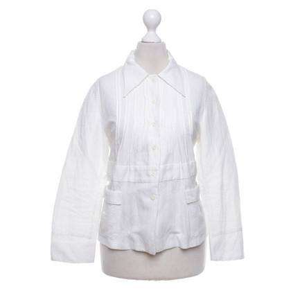 Miu Miu Jacke in Weiß