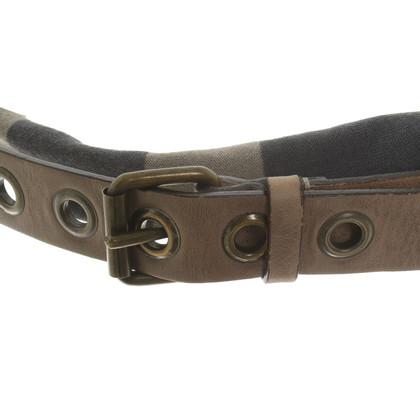 Brunello Cucinelli Leather wrap belt