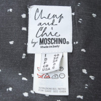 Moschino Cheap and Chic skirt in black and white