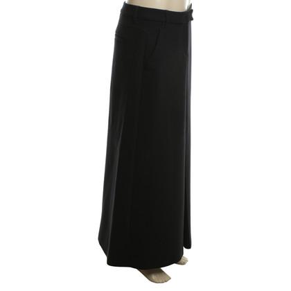 Dorothee Schumacher Langer skirt in dark blue
