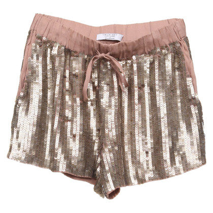 Twin-Set Simona Barbieri Shorts mit Pailletten