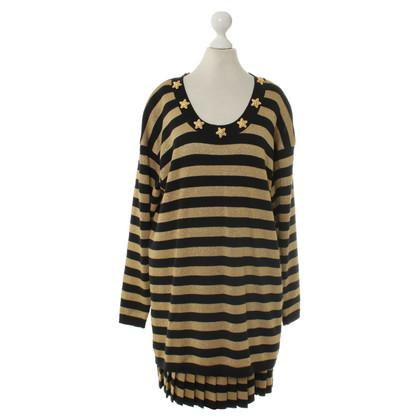 Escada Striped knit costume