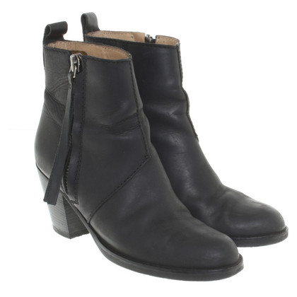 "Acne ""Pistol Boots"" in nero"