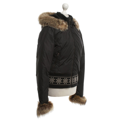 Jean Paul Gaultier Down jacket in black