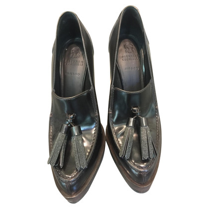 Brunello Cucinelli Pumps mit Applikation