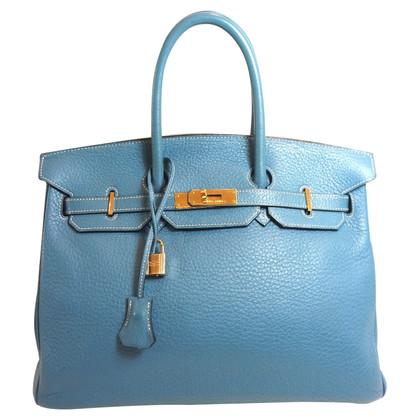 "Hermès ""Birkin Bag 35"" van Clemence Leather"